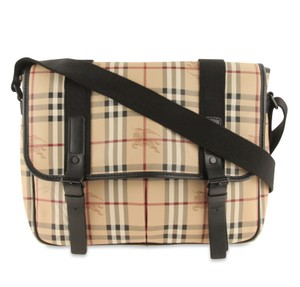 Burberry Made In Italy Beige Messenger Bag