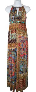 Maxi Dress by Boston Proper Maxi Multi Printed