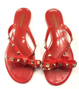 Valentino Chanel Flip Flops Chanel Flats Chanel Camellia Chanel Chanel Slides Red Sandals
