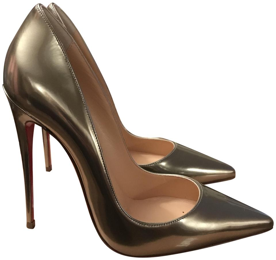 2ab208f857f Christian Louboutin Light Gold So Kate 120 Antispecchio Pumps Size EU 37  (Approx. US 7) Regular (M, B) 30% off retail