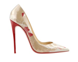 Christian Louboutin Sokate Kate Pigalle Stiletto Classic Beige Pumps