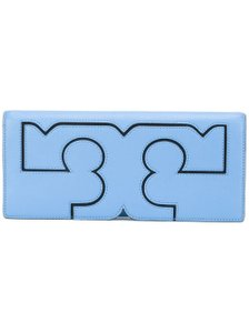 Tory Burch montego blue Clutch