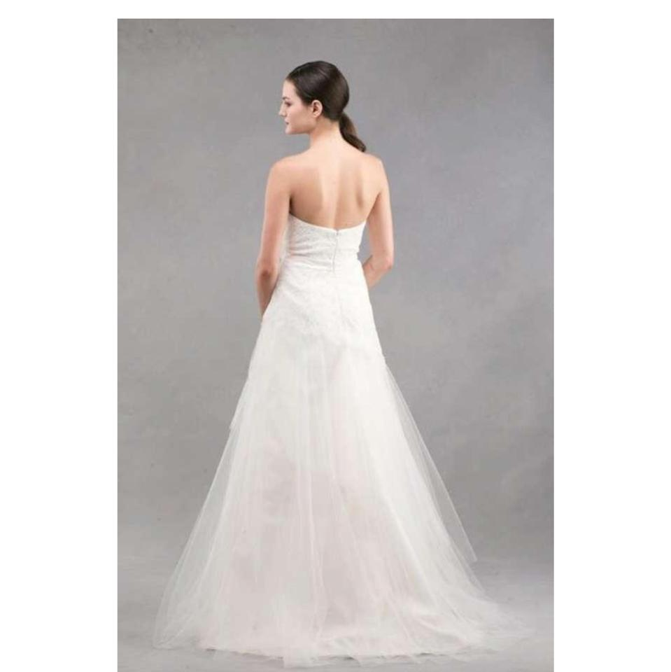 Jenny Yoo Voletta Tulle Organza Lace Strapless Gown Destination