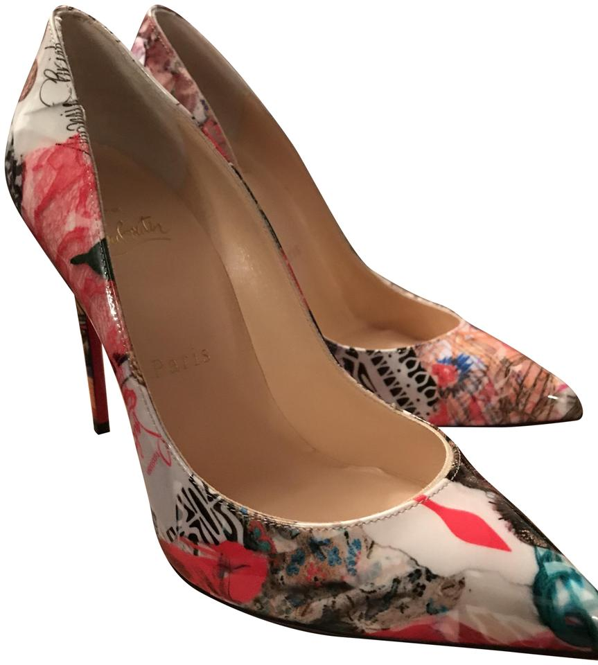67524739f17 Christian Louboutin Multicolored Pigalle Follies 100 Patent Trash Pumps  Size EU 35.5 (Approx. US 5.5) Regular (M, B) 40% off retail