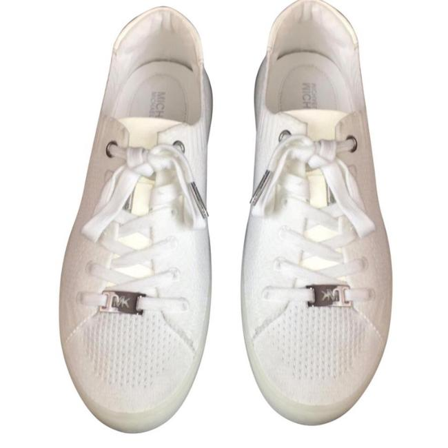 Item - White New Women's Fashion Lace Up Sneakers Size US 7.5 Regular (M, B)