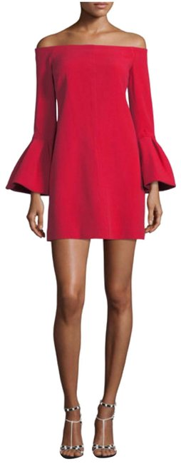 Item - Red Women's Emery Off-the-shoulder Mid-length Cocktail Dress Size 4 (S)