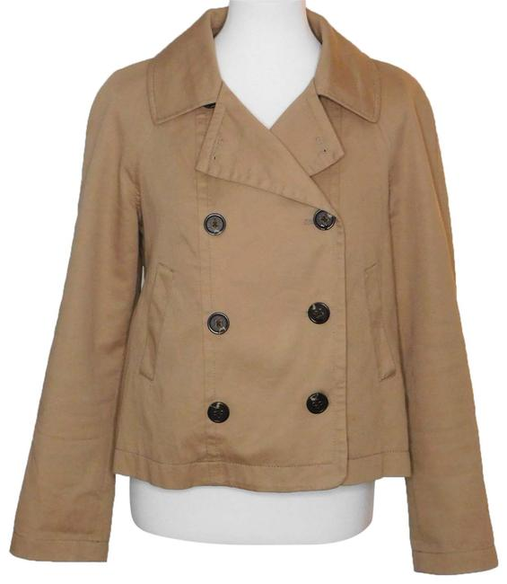 Anthropologie Brown Colchester Khaki Jacket Size 6 (S) Anthropologie Brown Colchester Khaki Jacket Size 6 (S) Image 1