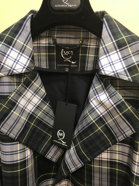 Alexander McQueen Button Down Shirt Plaid Image 1