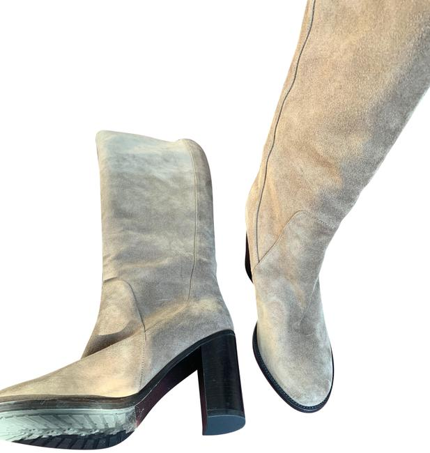 Item - Taupe Barrett Tall Suede Boots/Booties Size US 9.5 Regular (M, B)