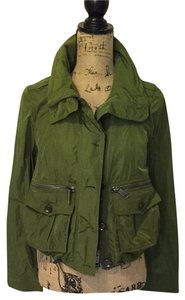 Burberry Brit Bomber Spring Fall Green Jacket