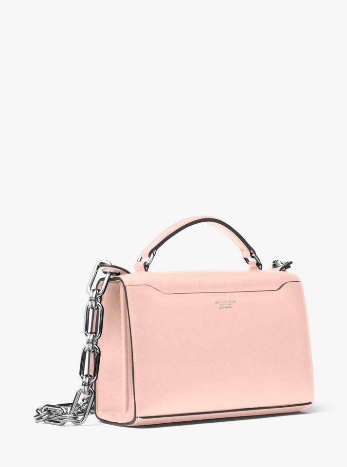 811df39adad6 Michael Kors Bancroft Calf 31h8pbnl4l Blush Leather Shoulder Bag ...