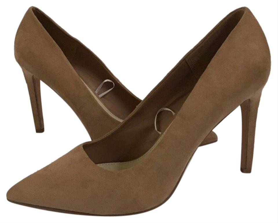 d85f491daa9de Forever 21 Tan Faux Suede Pumps Size US 10 Regular (M, B) - Tradesy