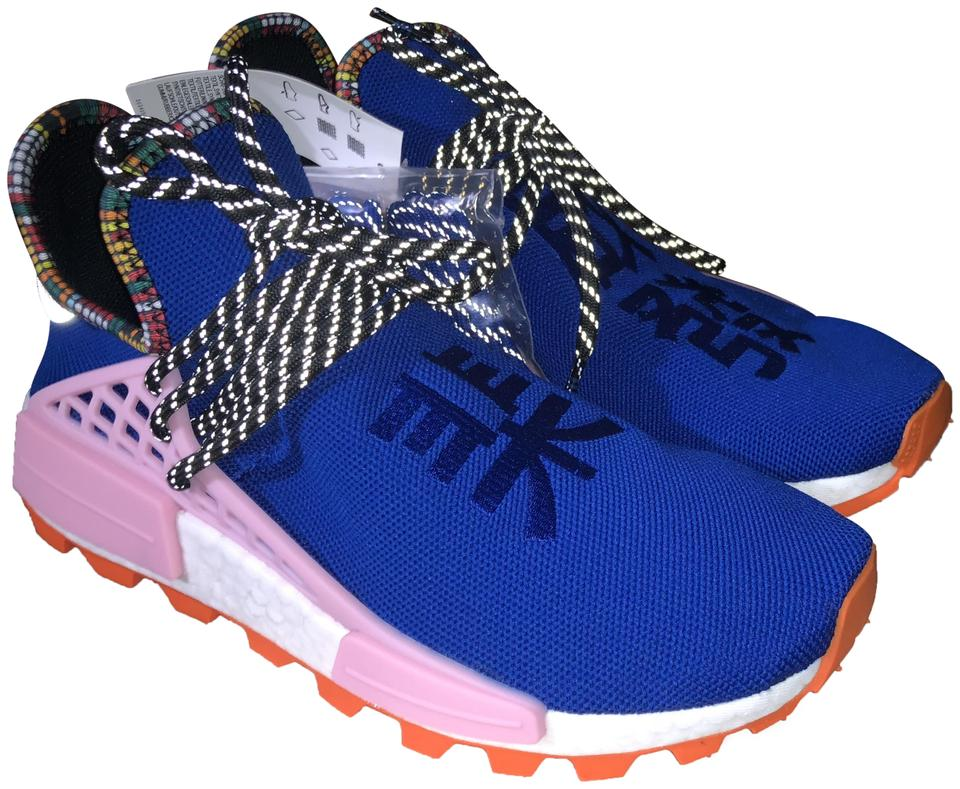 adidas Originals = Pharrell Williams Power Blue Human Race Inspiration Pack Sneakers Size US 7.5 Regular (M, B) 18% off retail