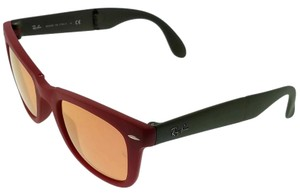 Ray-Ban RB4105-6050-Z2 Unisex Red Frame Brown Lens 50mm Genuine Sunglasses