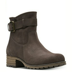 Clarks Taupe Boots
