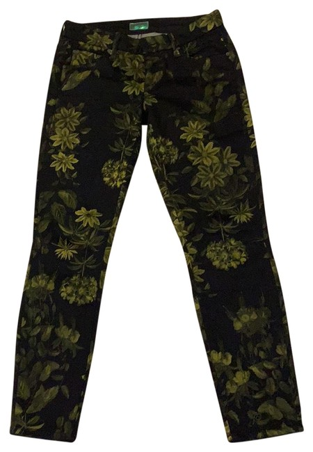Item - Dark Rinse The Looker Crop -- Moon In The Water Capri/Cropped Jeans Size 0 (XS, 25)
