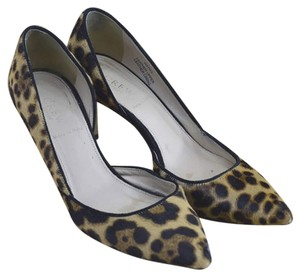 c35a1f41875 J.Crew Fall Winter Holiday Stiletto Animal Cheetah Print Brown Black Pumps