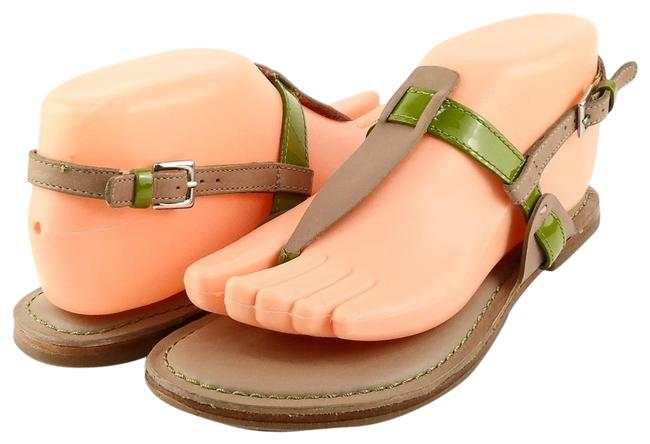 Item - Maple Green Bridget Leather Sandals Size US 6.5 Regular (M, B)