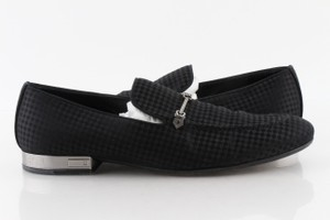 Louis Vuitton Black Suede Bank Loafers Shoes