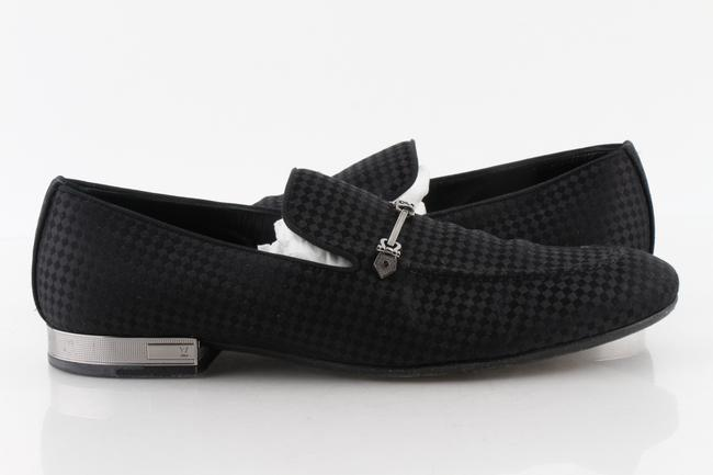 Item - Black Suede Bank Loafers Shoes