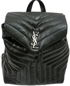 Saint Laurent Loulou Monogram Backpack