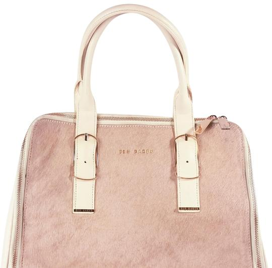 Preload https://img-static.tradesy.com/item/24523314/ted-baker-hair-on-cowhide-light-pink-rose-gold-zippers-leather-tote-0-2-540-540.jpg