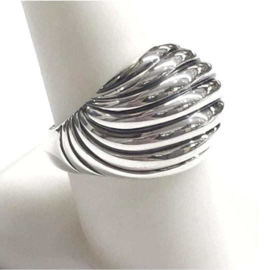 Preload https://img-static.tradesy.com/item/24523329/david-yurman-sculptured-cable-dome-sterling-silver-sterling-silver-size-75-guaranteed-comes-with-rin-0-3-540-540.jpg