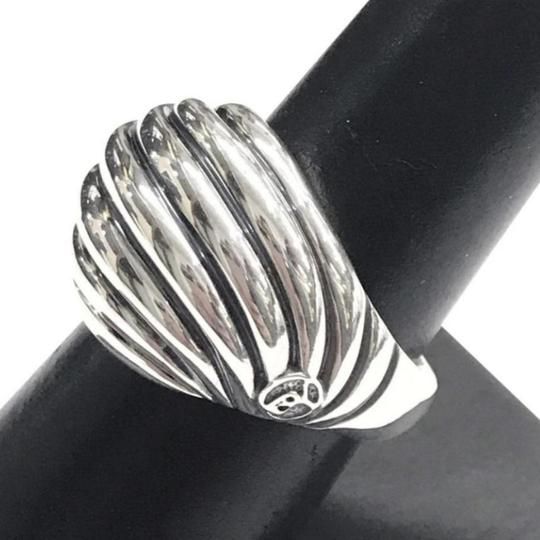 David Yurman BEAUTIFUL!!! David Yurman Sculptured Cable Dome Sterling Silver Ring Sterling Silver Size 7.5 100% Authentic Guaranteed!! Comes with Original David Yurman Pouch!!