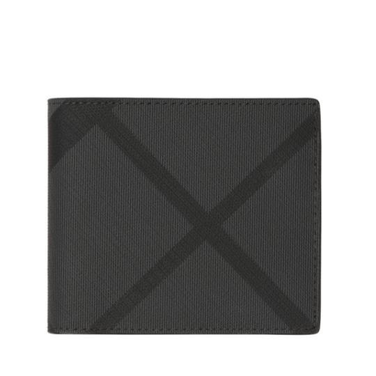 Burberry London Check and Leather International Bifold Wallet