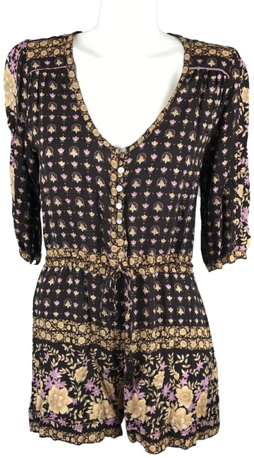 Preload https://img-static.tradesy.com/item/24523392/spell-and-the-gypsy-collective-brown-desert-rose-playsuit-floral-34-sleeve-small-romperjumpsuit-0-1-650-650.jpg