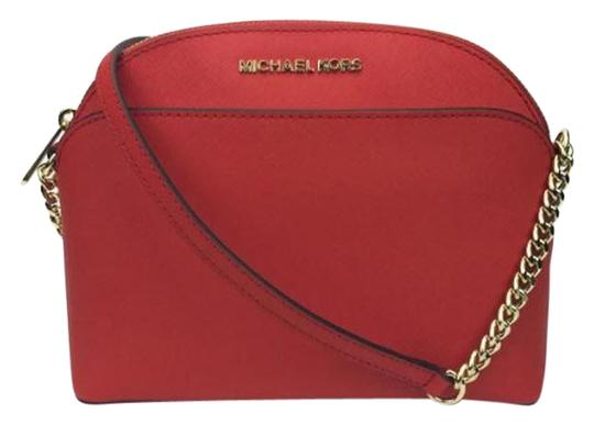 Preload https://img-static.tradesy.com/item/24523443/michael-kors-emmy-cindy-red-scarlet-leather-cross-body-bag-0-1-540-540.jpg