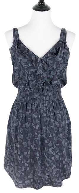 Preload https://img-static.tradesy.com/item/24523450/rebecca-taylor-blue-gray-ruffle-front-mid-length-cocktail-dress-size-4-s-0-1-650-650.jpg