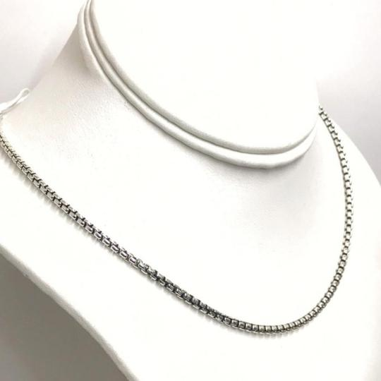 David Yurman STYLISH LOOK!! David Yurman Sterling Silver Box Link Chain Sterling Silver 22