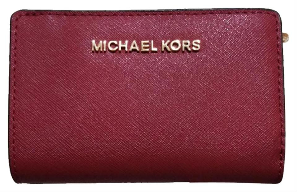 63ab62f04a4a Michael Kors Michael Kors Jet Set Travel Bifold Zip Coin Wallet 35f7gtvF2l  Image 0 ...