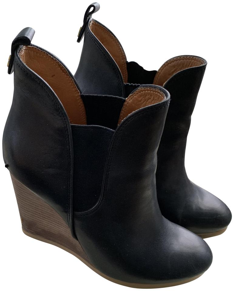 afafdedd2f1 Coach Black Farah Washed Leather Boots/Booties Size US 7.5 Regular (M, B)  72% off retail