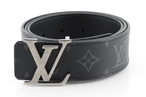 Louis Vuitton Louis Vuitton Monogram Eclipse Calfskin 40mm LV Reversible Belt
