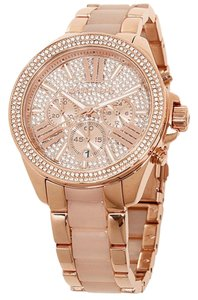Michael Kors Michael Kors Watches Wren Chronograph Rose Gold Two Tone Watch MK6096