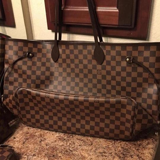 Louis Vuitton Tote in damier ebene Image 4