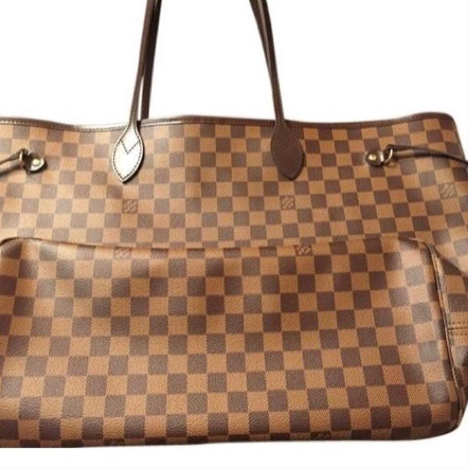 Louis Vuitton New Never Full Gm Damier Ebene Tote 55% off retail