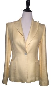 ZARA ZARA Woman pastel yellow pant suit