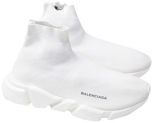 Balenciaga Sock Sneakers White Athletic