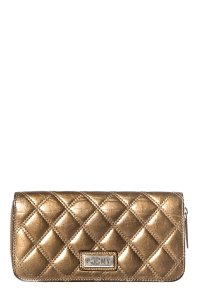 Chanel Chanel Bronze Quilted Wallet