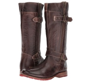 Bed Stü Leather Distressed Lugged Brown Boots