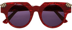 House of Holland House of Holland Fister V2 round-frame acetate sunglasses
