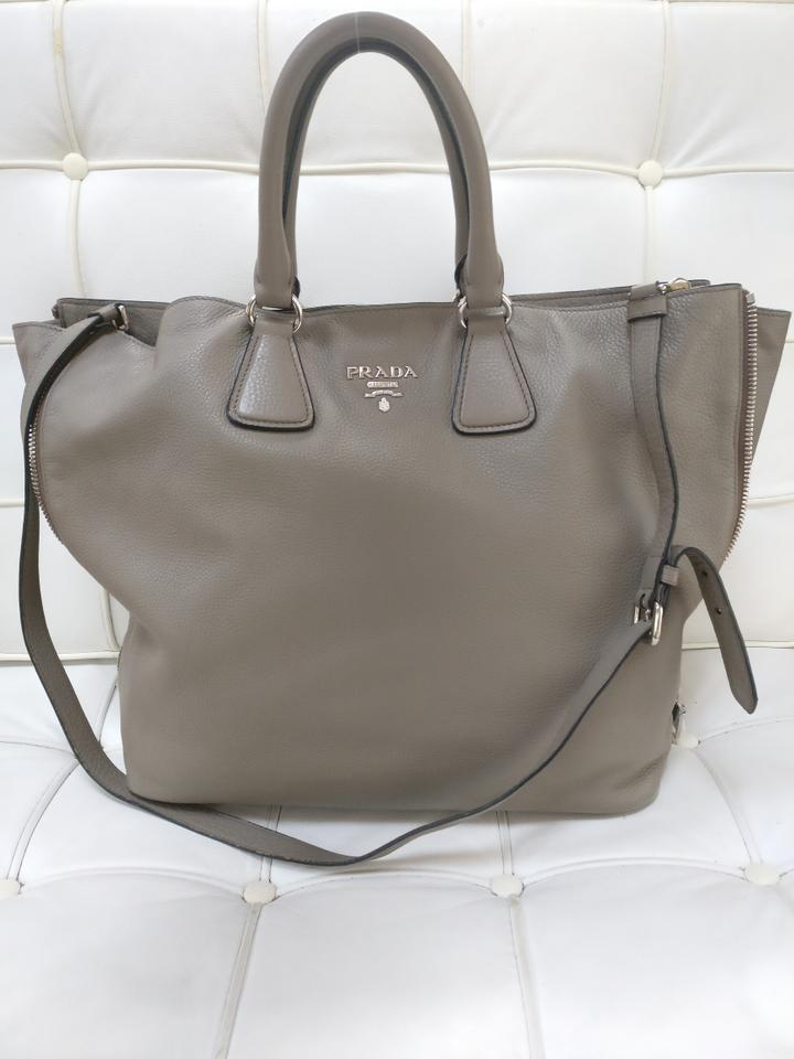 f53392e649b6 ... good prada leather tote cross body bag 007fc 7d97e