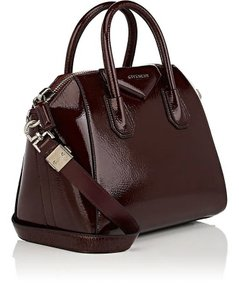 Givenchy Satchel Leather Boredeaux Antigona Shoulder Bag