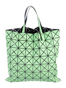 fa606939bf Issey Miyake Bao Bao Lucent Tote in Neon green