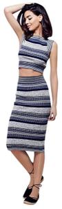 Free People Free People Letters to My Lover Midi Skirt Top Set