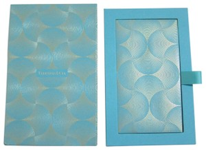 Tiffany & Co. Collectibles Tiffany Blue Gold Scale Pattern 8 Envelopes Holiday Set
