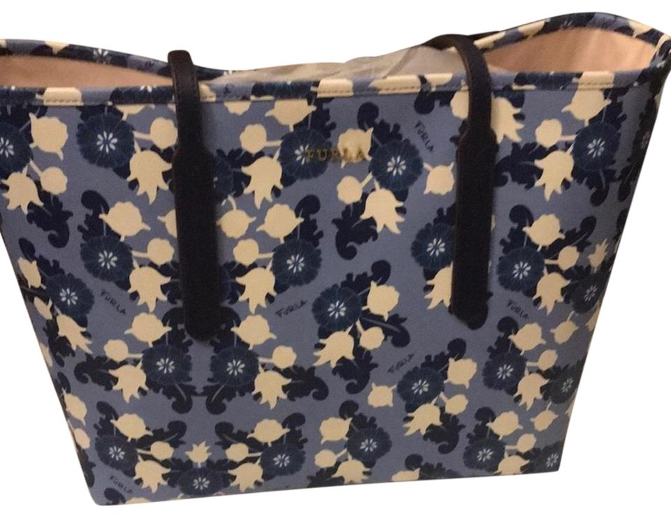 4dc7254a1681 Furla Ariana Medium Floral Saffiano Leather Tote - Tradesy